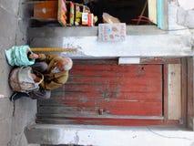 Livstil i Suzhou Arkivbilder