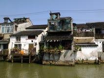 Livstil i Suzhou Arkivfoto