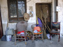 Livstil i Suzhou Kina Arkivbilder