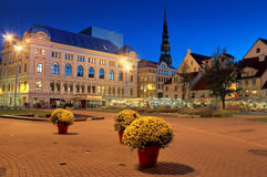 The Livu square. Stock Photos