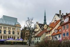 Livu square, Riga Stock Image