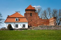 Liw Town, medieval castle, Poland Royalty Free Stock Image