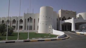 Liwa旅馆的疆土磨擦Al Khali沙漠阿联酋股票英尺长度录影的 股票录像