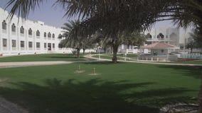 Liwa旅馆的疆土磨擦Al Khali沙漠阿联酋股票英尺长度录影的 股票视频