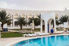 Liwa-Hotel Lizenzfreie Stockfotografie