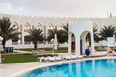 Liwa hotell Royaltyfri Fotografi