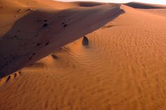 Liwa sand dunes Royalty Free Stock Images