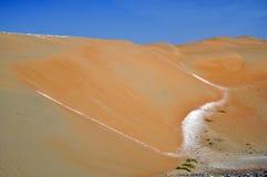 Liwa sand dunes Stock Photo