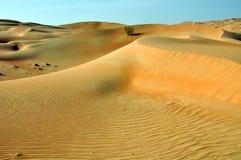 Liwa sand dunes Royalty Free Stock Photo