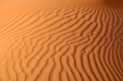 Liwa sand ripples Royalty Free Stock Image