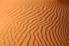 Liwa sand ripples Stock Images