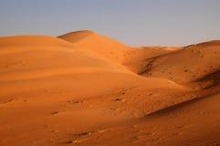 Liwa sanddyner Arkivfoto