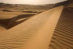 Liwa sands Royalty Free Stock Image