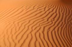 liwaen ripples sanden Arkivbilder