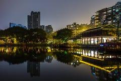 liwan lake park at night Stock Images