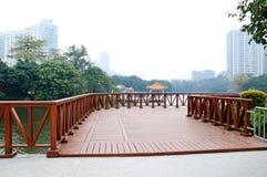 Liwan lake park scenery Stock Photo