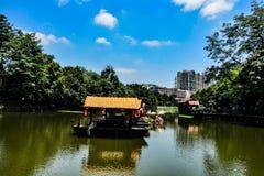 Liwan See in Guangzhou, China lizenzfreie stockfotos