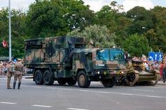 LIWIEC - Artillery Support Radar Stock Photos
