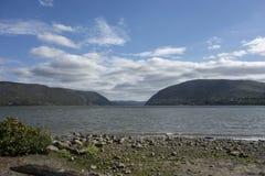 Śliwkowy punkt na Hudson Obrazy Royalty Free