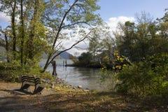 Śliwkowy punktu park Fotografia Royalty Free