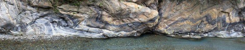 Liwu River en la garganta de Taroko, Taiwán Imagenes de archivo