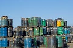 Lixeira tóxica Fotografia de Stock Royalty Free