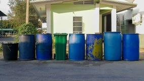 Lixo, ambiente, questões meio-ambientais, poluição, Tailândia fotografia de stock