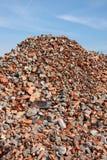 Lixo da construção Foto de Stock Royalty Free