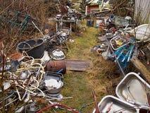 Lixo da sucata da sucata Foto de Stock Royalty Free