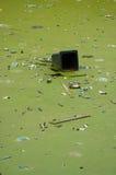 Lixo de flutuação Imagem de Stock Royalty Free