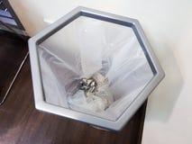Lixo de papel do escritório Imagem de Stock