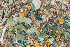 Lixo dos circuitos eletrônicos imagens de stock
