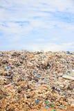 Lixo na operação de descarga Imagem de Stock Royalty Free