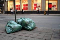 Lixo urbano Fotografia de Stock Royalty Free