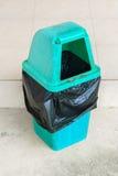 Lixo verde Imagens de Stock