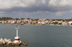 Lixouri city at Kefalonia, Greece Royalty Free Stock Image