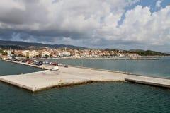 Lixouri city at Kefalonia, Greece Stock Photography