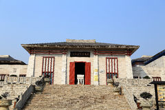 Liye , the chinese ancient tujia town in Hunan Stock Photos