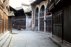 Liye , the chinese ancient tujia town in Hunan Royalty Free Stock Images
