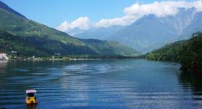 Liyu Lake in Taiwan. Stock Images