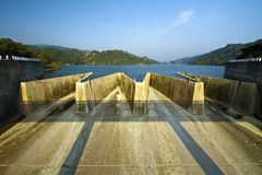 Liyutan reservior in Taiwan Royalty Free Stock Photos
