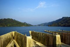 Liyutan reservior in Taiwan Royalty Free Stock Photography