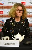 Liz McIntyre, el CEO y director de Sheffield Doc /Fest imágenes de archivo libres de regalías