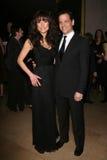 Liz Vassey i David Emmerichs przy 59th Rocznymi as Eddie nagrodami. Beverly Hilton hotel, Beverly Hills, CA. 02-15-09 Obrazy Royalty Free