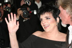 Liza Minnelli royalty free stock photos