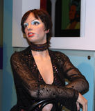 Liza Minnelli at Madame Tussaud's stock image