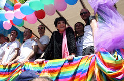 Liza Minnelli at Paris Gay Pride 2009 Royalty Free Stock Image