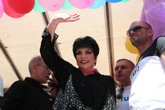 Liza Minnelli at Paris Gay Pride 2009 Stock Image