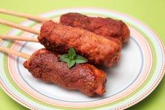 Lizaki mięso obraz royalty free