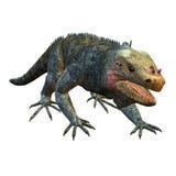 Lizard. 3d rendering  of a running lizard as an illustration Stock Photography